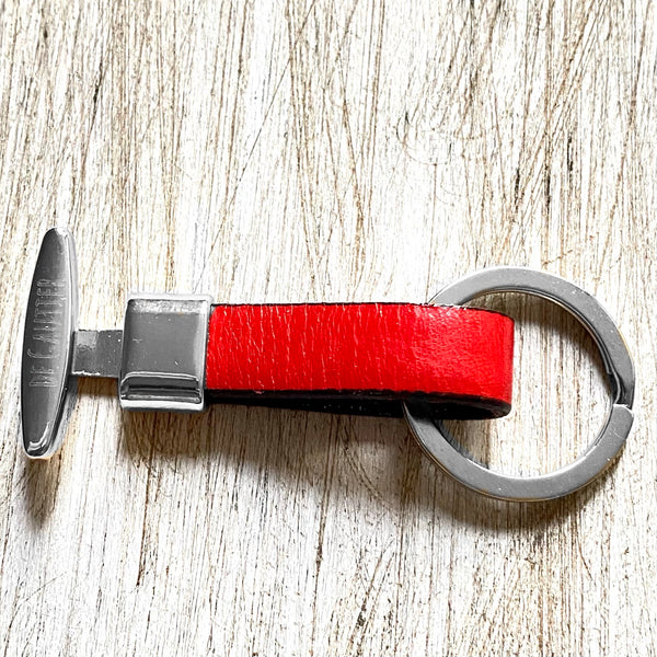 KEYCHAIN LEATHER - RED