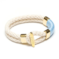 GRIMAUD GOLD - IVORY/BLUE
