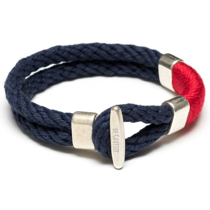 GOURDON  - NAVY/RED