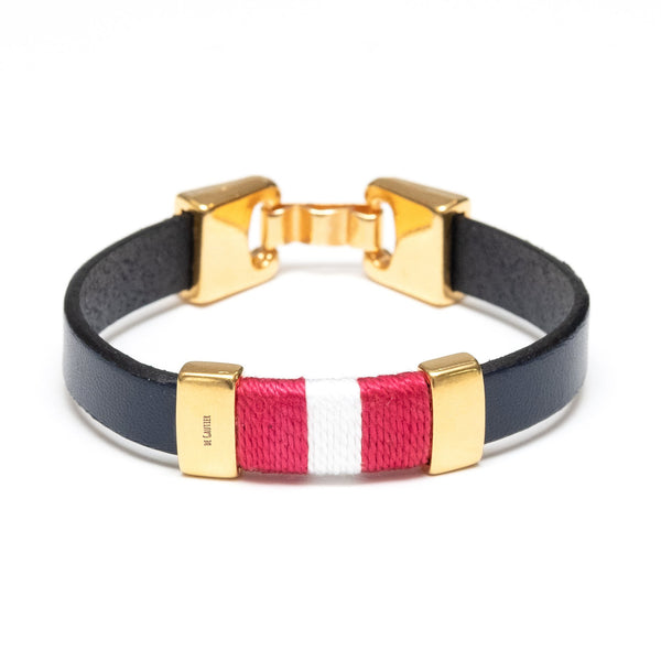 MONACO - Navy/Red/White