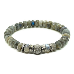 Labradorite MOR DIAMONDS™ BRACELET