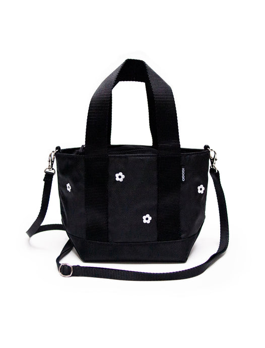 A1 Mini Tote - Black Daisy