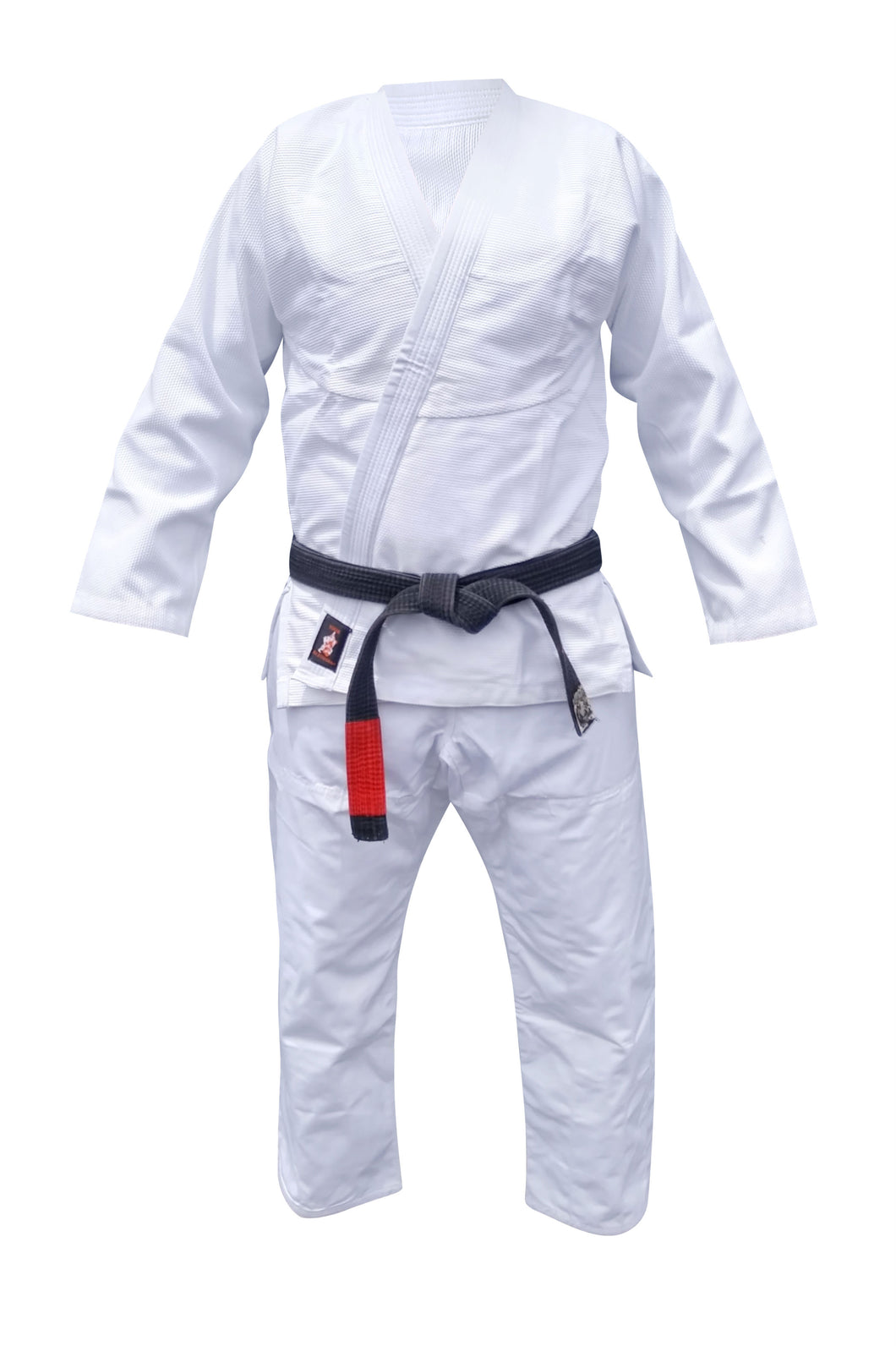 Refurbished YJJG Brazilian Jiu Jitsu Premium 450 White Uniform Free BJJ Belt