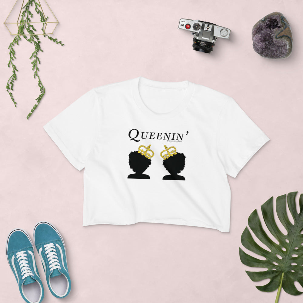 Queenin' Crop Top