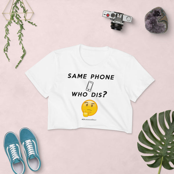 Same Phone Crop Top
