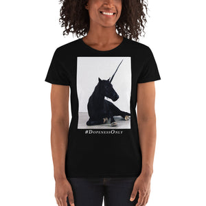 Black Unicorn Women's T-Shirt