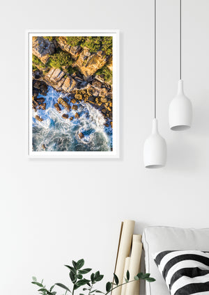 Coastal photography art print, Manly NSW