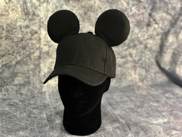 Mens all black hat