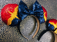 Captain marvel ears