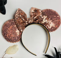 Rosegold Minnie Sequin Ears