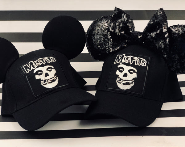 Misfits His and Hers Mouse Ears Hat