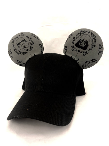 Darth and storm men's hat