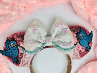 Cinderella Pink Dress Minnie Ears