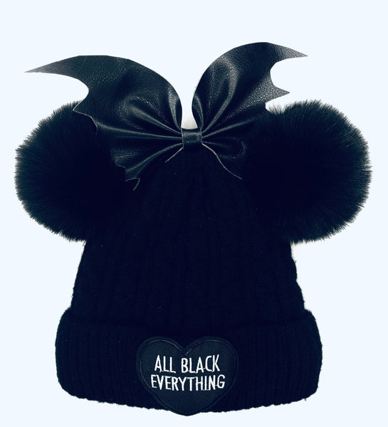 All black Beanie