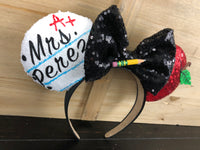 Teacher Minnie Ears