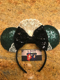 Sequin Haunted Mansion Maid Mouse Ears