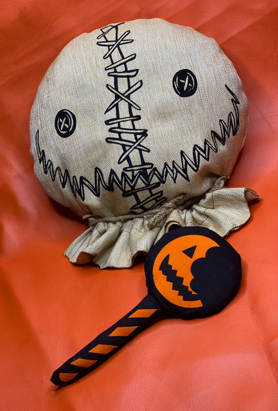 Trick R Treat inspired pillow