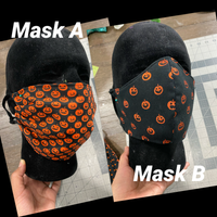 Halloween Inspired Face Mask