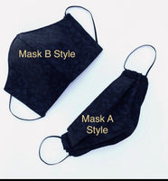 New park sketch Face mask