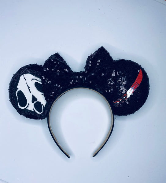 Horror Scream Ghost Face Mouse Inspired Ears
