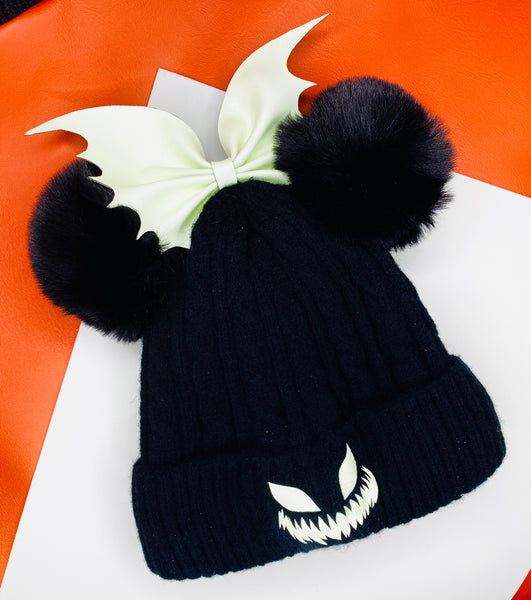Jack O Lantern glow in the dark Beanie