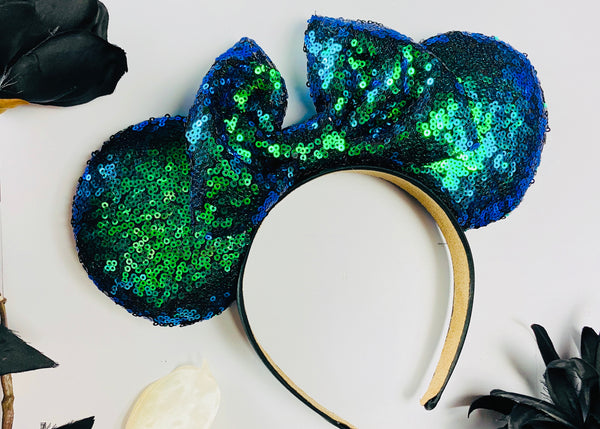Mermaid Sequin Minnie Ears
