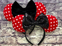 Polka Dot Mouse Ears