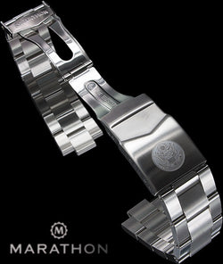 Marathon Stainless Steel Bracelet with US Seal