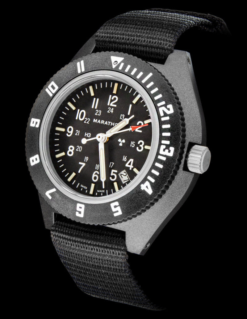 Marathon Pilot's Navigator with Date | Sapphire Crystal