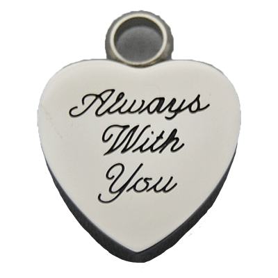 Always With You Heart Pendant Memorial Jewelry
