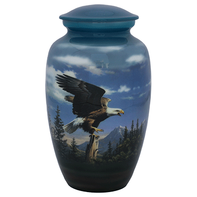 American Bald Eagle Adult Cremation Urn