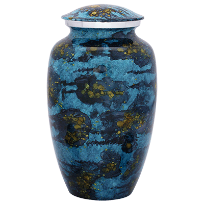 Astronomers Dream Blue Adult Cremation Urn