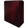 Z  Cremation Wood Urn, Cherry Tribute Scattering - Adult Funeral Memorial