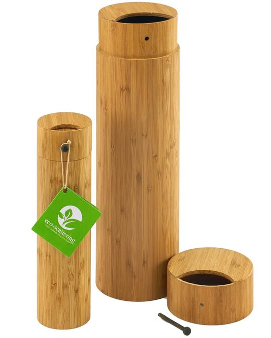 Bamboo Eco-Friendly Scattering Urns