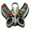 Small Floral Butterfly Memorial Jewelry