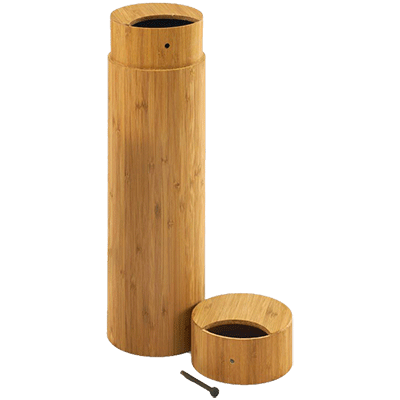 Large Bamboo Scattering Urn