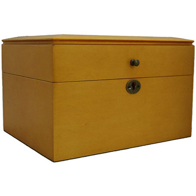 Oak Memory Chest Cremation Urn