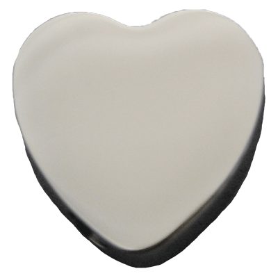 Solid Heart Memorial Jewelry