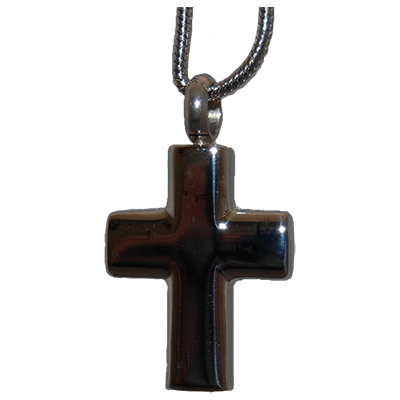 Stainless Cross Memorial Jewelry