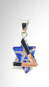 Star of David - Custom Glass Blown Pendant