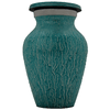 Cremation Keepsake Urn, Teal Rain - Small