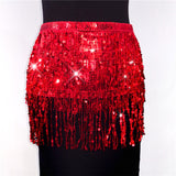 Holly Tassel Sequin Top & Skirt Set