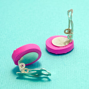 Clip-on earrings: Love Up the Valley