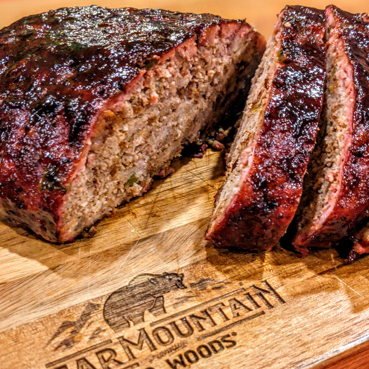 Smoked Bourbon BBQ Meatloaf