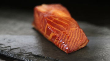 Maple and Brown Sugar Smoked Salmon