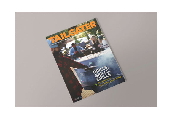 Bear Mountain BBQ Featured in Tailgater Magazine