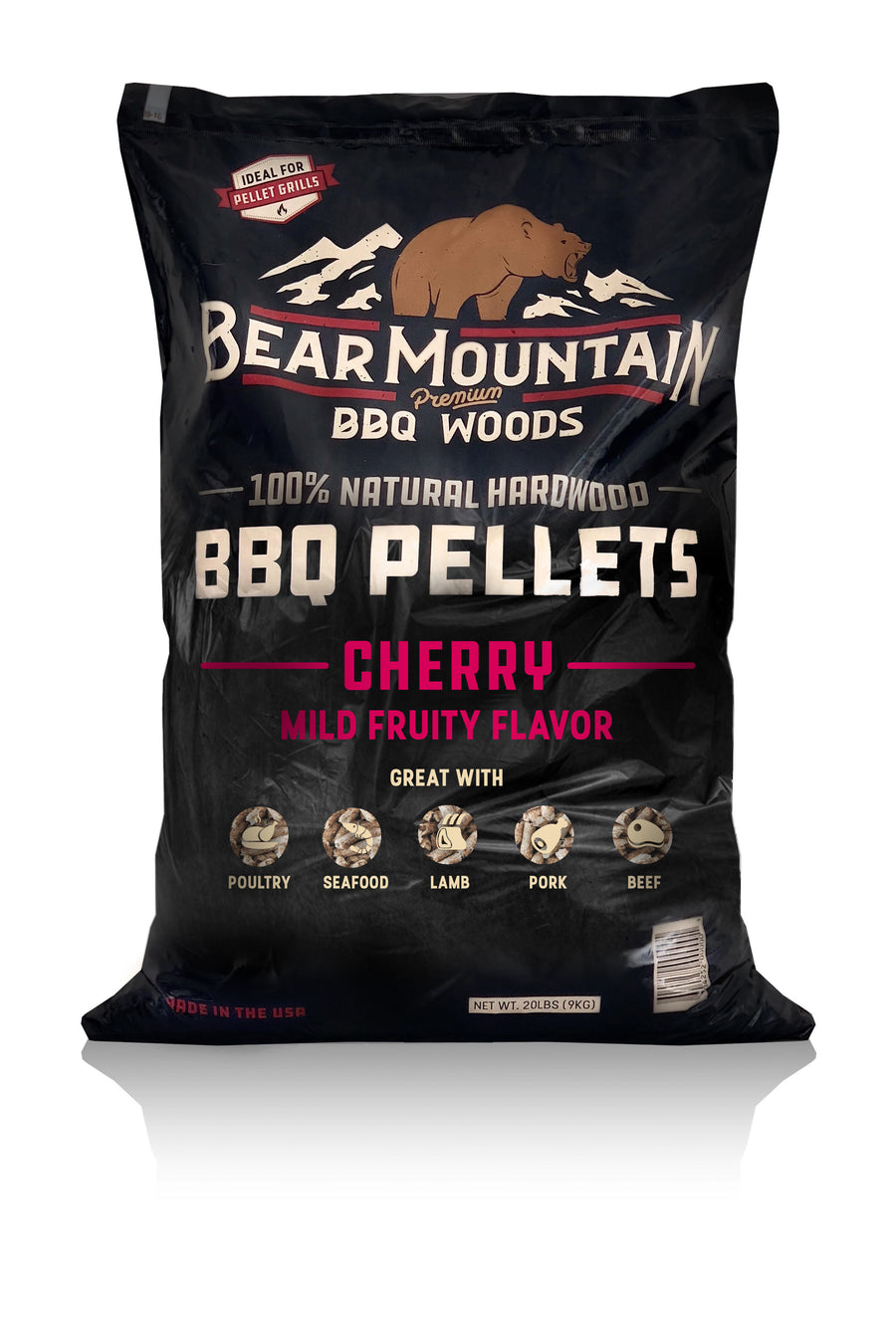 Bear Mountain BBQ Wood Pellets Cherry