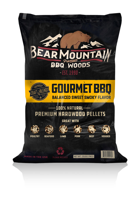 Gourmet BBQ Craft Blends™ Wood Pellets