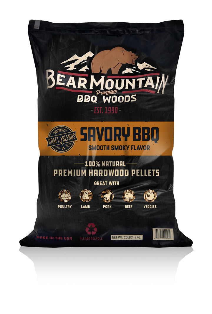 Savory BBQ Craft Blends™ Wood Pellets