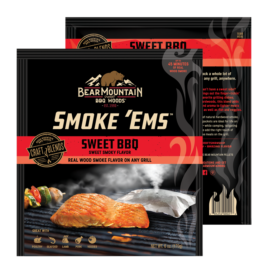 Sweet BBQ Smoke 'Ems™ 4-Pack